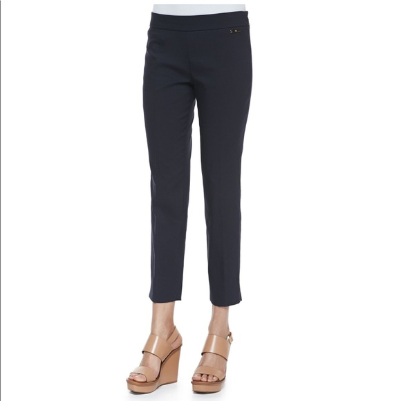 Tory Burch Pants - Tory Burch 'Callie' Skinny Ankle Pant in Navy